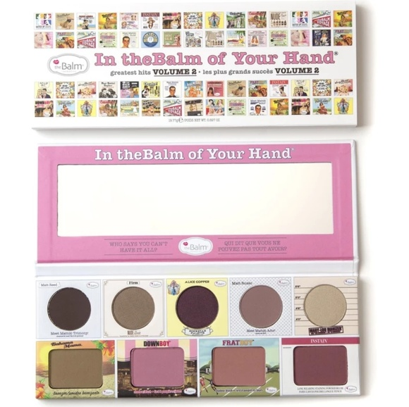theBalm Other - NWT In the BALM of Your Hand Volume 2 Palette